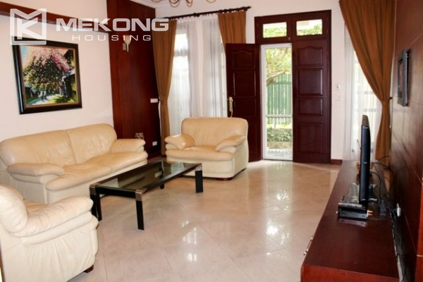Well decorated villa with 5 bedrooms for rent in C block, Ciputra Hanoi 2