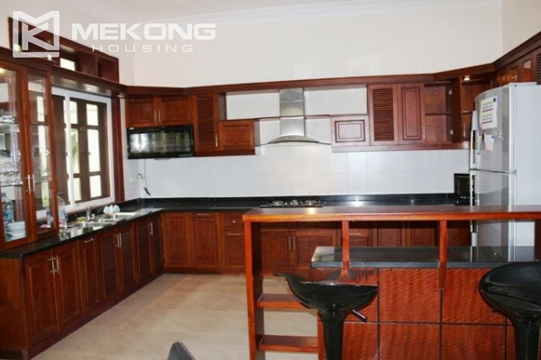 Well decorated villa with 5 bedrooms for rent in C block, Ciputra Hanoi 4