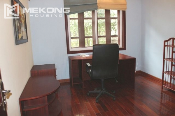 Well decorated villa with 5 bedrooms for rent in C block, Ciputra Hanoi 12