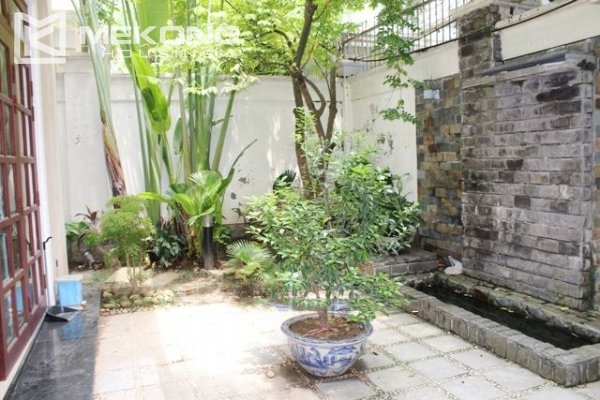 Well decorated villa with 5 bedrooms for rent in C block, Ciputra Hanoi 16