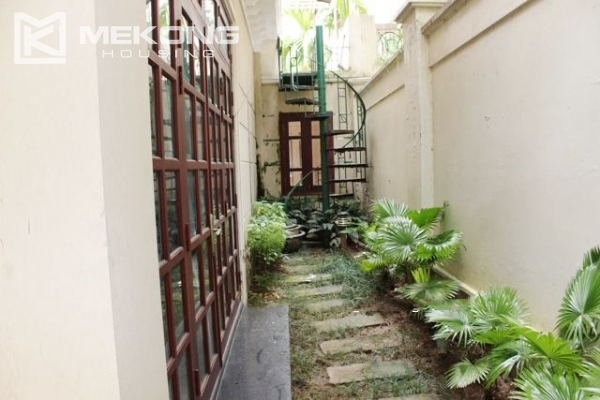 Well decorated villa with 5 bedrooms for rent in C block, Ciputra Hanoi 17