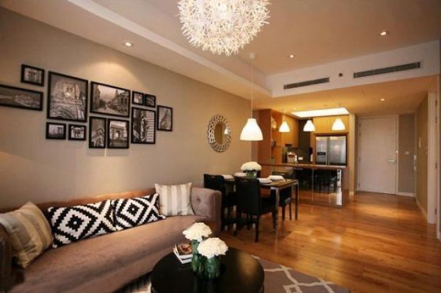 Well designed and furnished 2 bedroom apartment for rent in Indochina Plaza Hanoi (IPH)