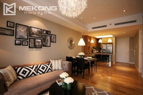 Well designed and furnished 2 bedroom apartment for rent in Indochina Plaza Hanoi (IPH) 1