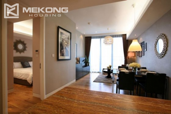 Well designed and furnished 2 bedroom apartment for rent in Indochina Plaza Hanoi (IPH) 4