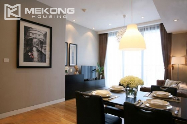 Well designed and furnished 2 bedroom apartment for rent in Indochina Plaza Hanoi (IPH) 5