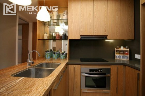 Well designed and furnished 2 bedroom apartment for rent in Indochina Plaza Hanoi (IPH) 13