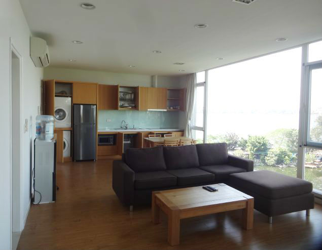 Well designed apartment with beautiful view of lake view in Dang Thai Mai street