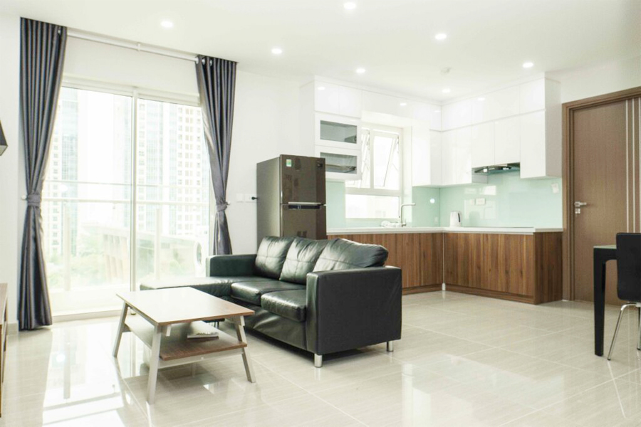 Well designed apartment with 2 BRs for rent in L4 tower, The Link Ciputra Hanoi 3