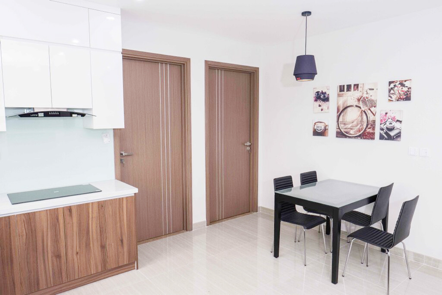 Well designed apartment with 2 BRs for rent in L4 tower, The Link Ciputra Hanoi 4