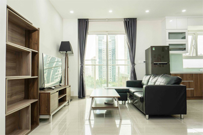 Well designed apartment with 2 BRs for rent in L4 tower, The Link Ciputra Hanoi