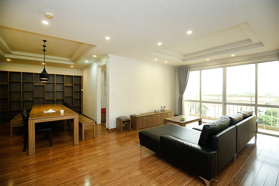 Well designed apartment with 4 bedrooms for rent in G2 tower, Ciputra Hanoi 1