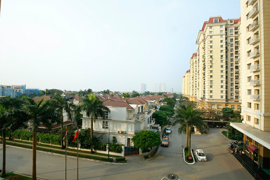 Well designed apartment with 4 bedrooms for rent in G2 tower, Ciputra Hanoi 17