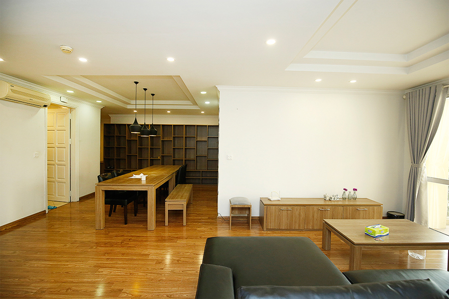 Well designed apartment with 4 bedrooms for rent in G2 tower, Ciputra Hanoi 2