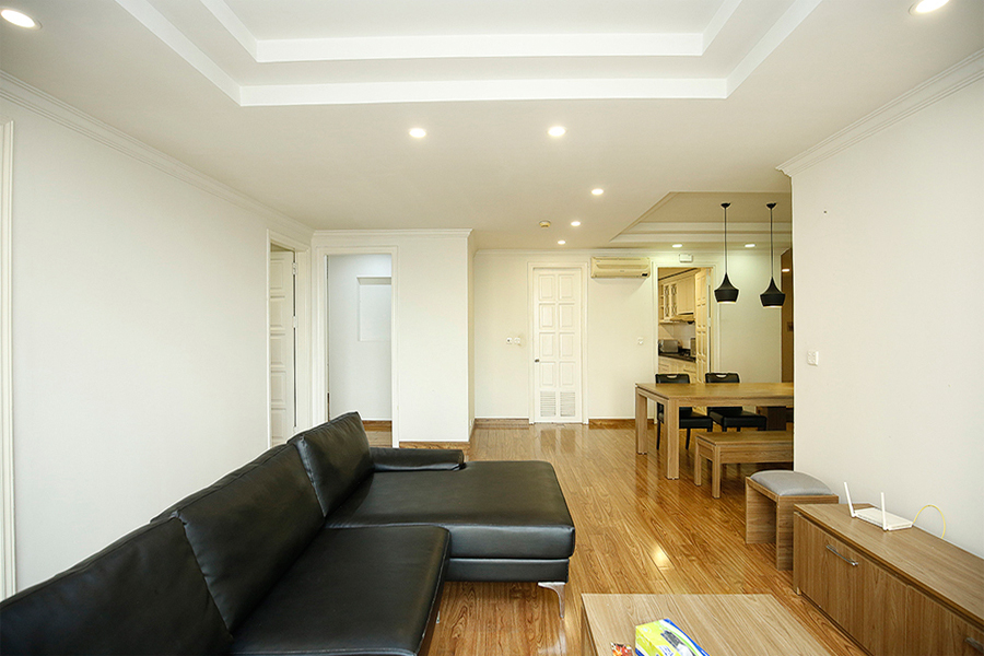 Well designed apartment with 4 bedrooms for rent in G2 tower, Ciputra Hanoi 4