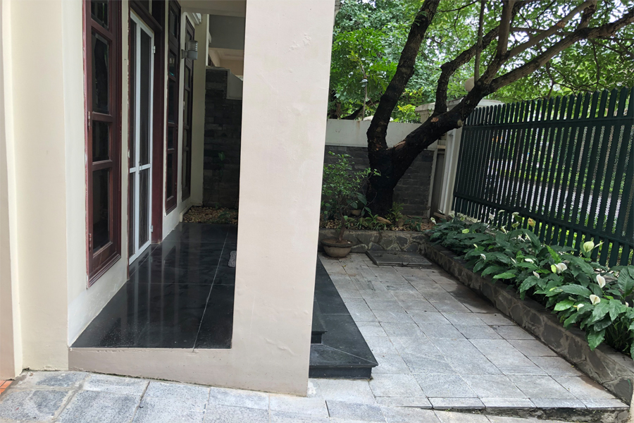 Well designed villa with 5 BRs for rent in C Block, Ciputra Hanoi, convenient location 1