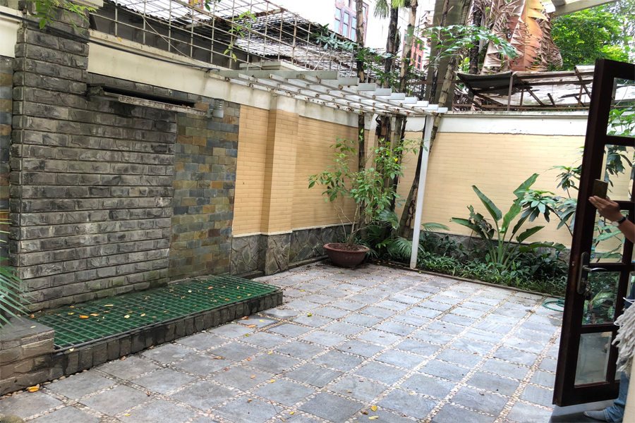 Well designed villa with 5 BRs for rent in C Block, Ciputra Hanoi, convenient location 10