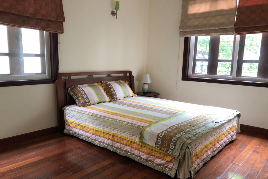 Well designed villa with 5 BRs for rent in C Block, Ciputra Hanoi, convenient location 14