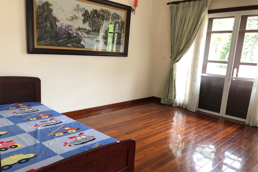 Well designed villa with 5 BRs for rent in C Block, Ciputra Hanoi, convenient location 20