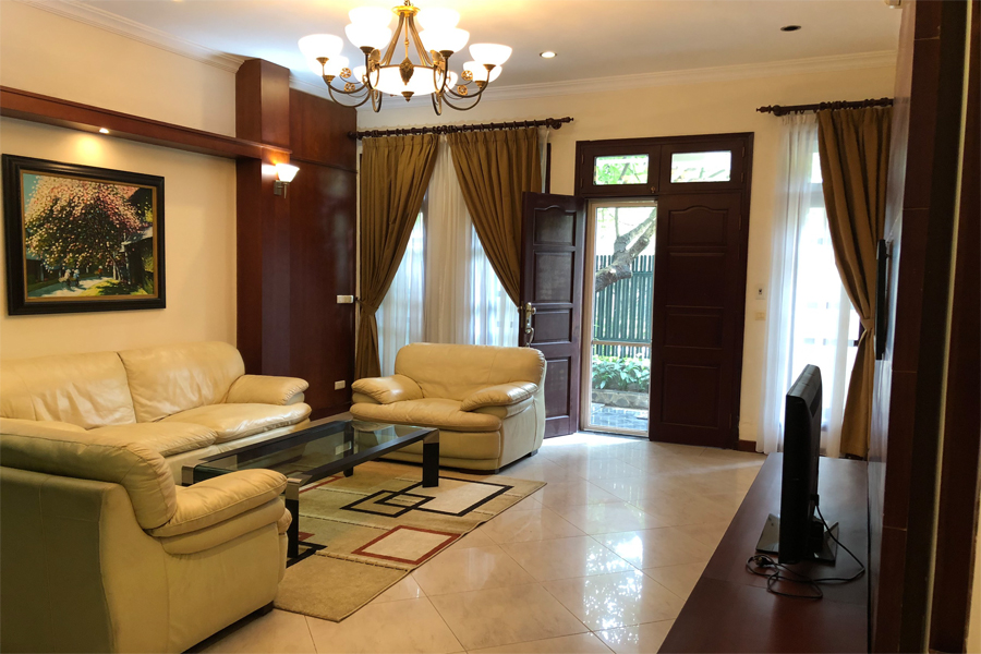 Well designed villa with 5 BRs for rent in C Block, Ciputra Hanoi, convenient location 3