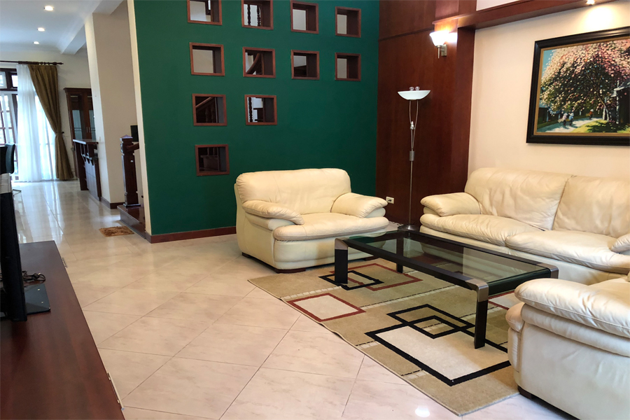 Well designed villa with 5 BRs for rent in C Block, Ciputra Hanoi, convenient location 4