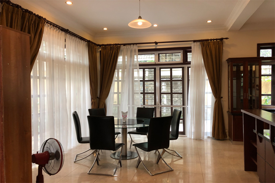 Well designed villa with 5 BRs for rent in C Block, Ciputra Hanoi, convenient location 7