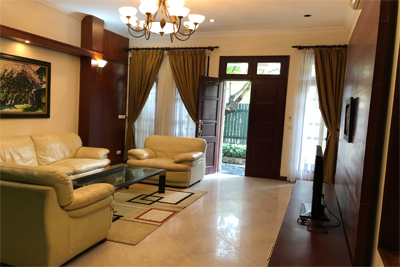 Well designed villa with 5 BRs for rent in C Block, Ciputra Hanoi, convenient location