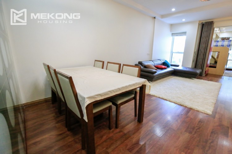 Well furnised apartment with 3 bedrooms for rent in L3 The Link, Ciputra Hanoi 1