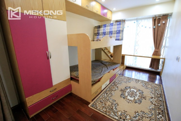 Well furnised apartment with 3 bedrooms for rent in L3 The Link, Ciputra Hanoi 3