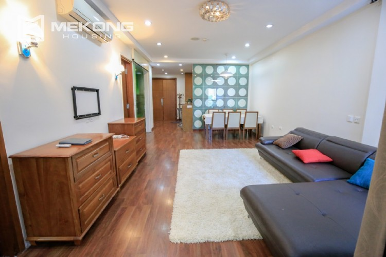Well furnised apartment with 3 bedrooms for rent in L3 The Link, Ciputra Hanoi 11