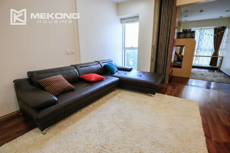 Well furnised apartment with 3 bedrooms for rent in L3 The Link, Ciputra Hanoi 15