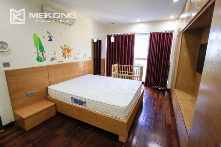 Well furnised apartment with 3 bedrooms for rent in L3 The Link, Ciputra Hanoi 18