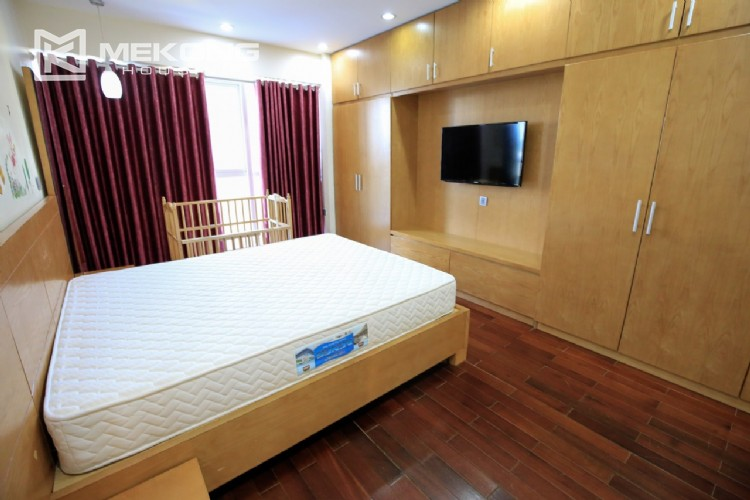 Well furnised apartment with 3 bedrooms for rent in L3 The Link, Ciputra Hanoi 20