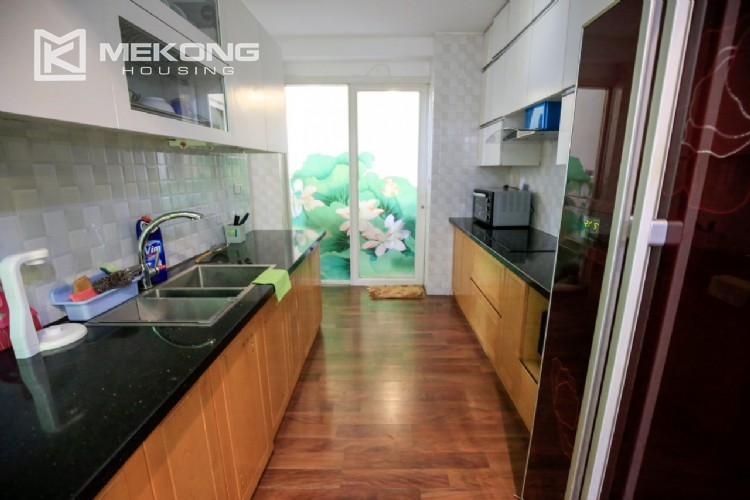 Well furnised apartment with 3 bedrooms for rent in L3 The Link, Ciputra Hanoi 21