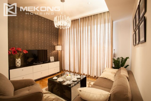 Well furnished and spacious apartment with 2 bedrooms in Indochina Plaza Hanoi 3