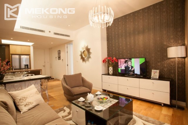 Well furnished and spacious apartment with 2 bedrooms in Indochina Plaza Hanoi 5
