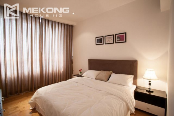 Well furnished and spacious apartment with 2 bedrooms in Indochina Plaza Hanoi 9