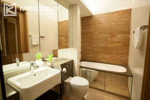 Well furnished and spacious apartment with 2 bedrooms in Indochina Plaza Hanoi 11