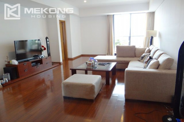 Well furnished apartment with 3 bedrooms on high floor for rent in Pacific Place Hanoi 1