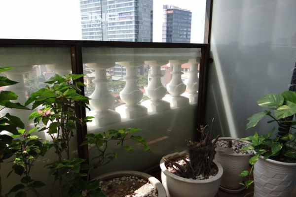 Well furnished apartment with 3 bedrooms on high floor for rent in Pacific Place Hanoi 19