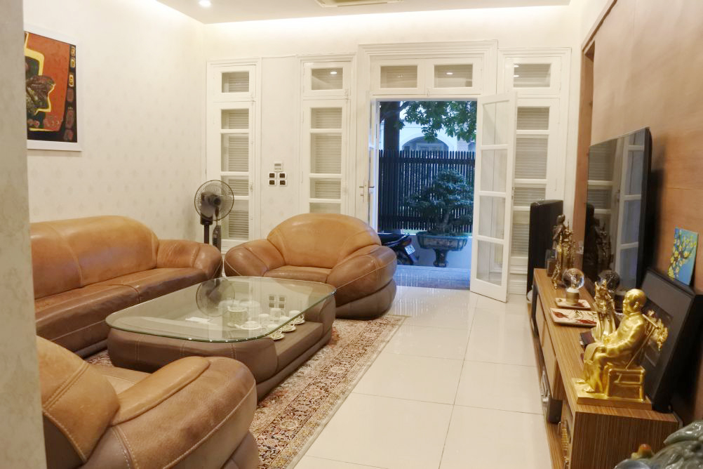 Well furnished villa with 4 bedrooms for rent in C block, Ciputra Hanoi