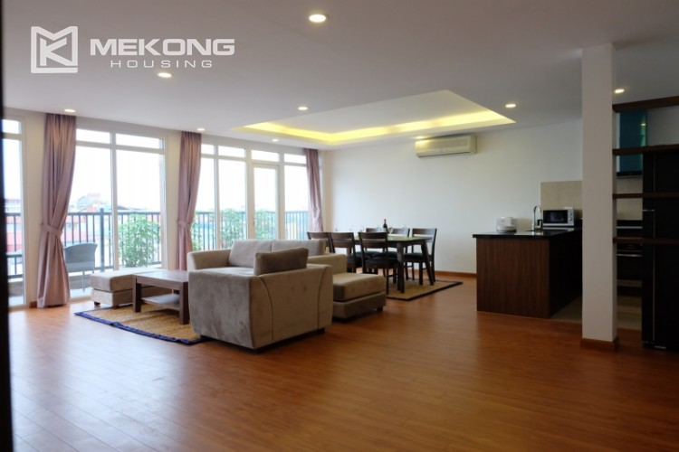 Wonderfull serviced apartment with 3 bedrooms for rent in Tu Hoa 1