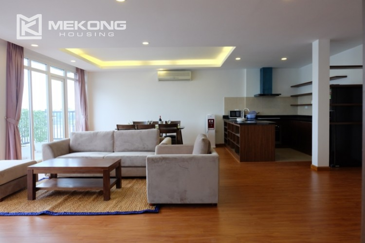 Wonderfull serviced apartment with 3 bedrooms for rent in Tu Hoa 2