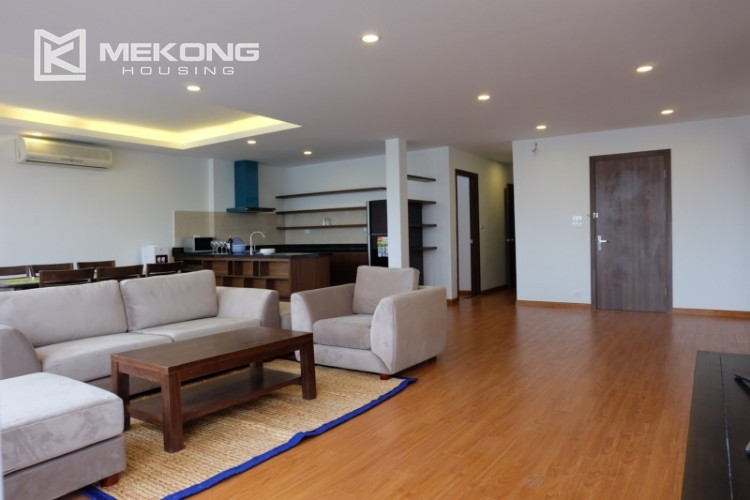 Wonderfull serviced apartment with 3 bedrooms for rent in Tu Hoa 3