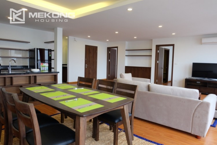 Wonderfull serviced apartment with 3 bedrooms for rent in Tu Hoa 6