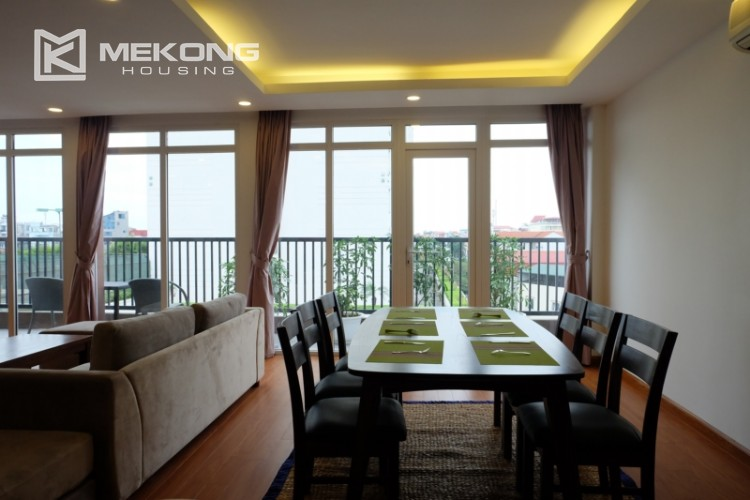 Wonderfull serviced apartment with 3 bedrooms for rent in Tu Hoa 7
