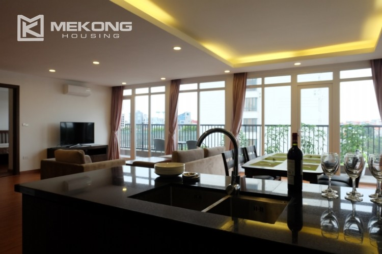 Wonderfull serviced apartment with 3 bedrooms for rent in Tu Hoa 8